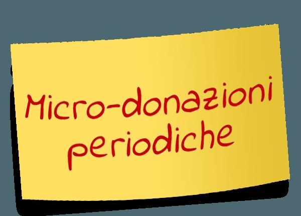 Micro-donazioni periodiche