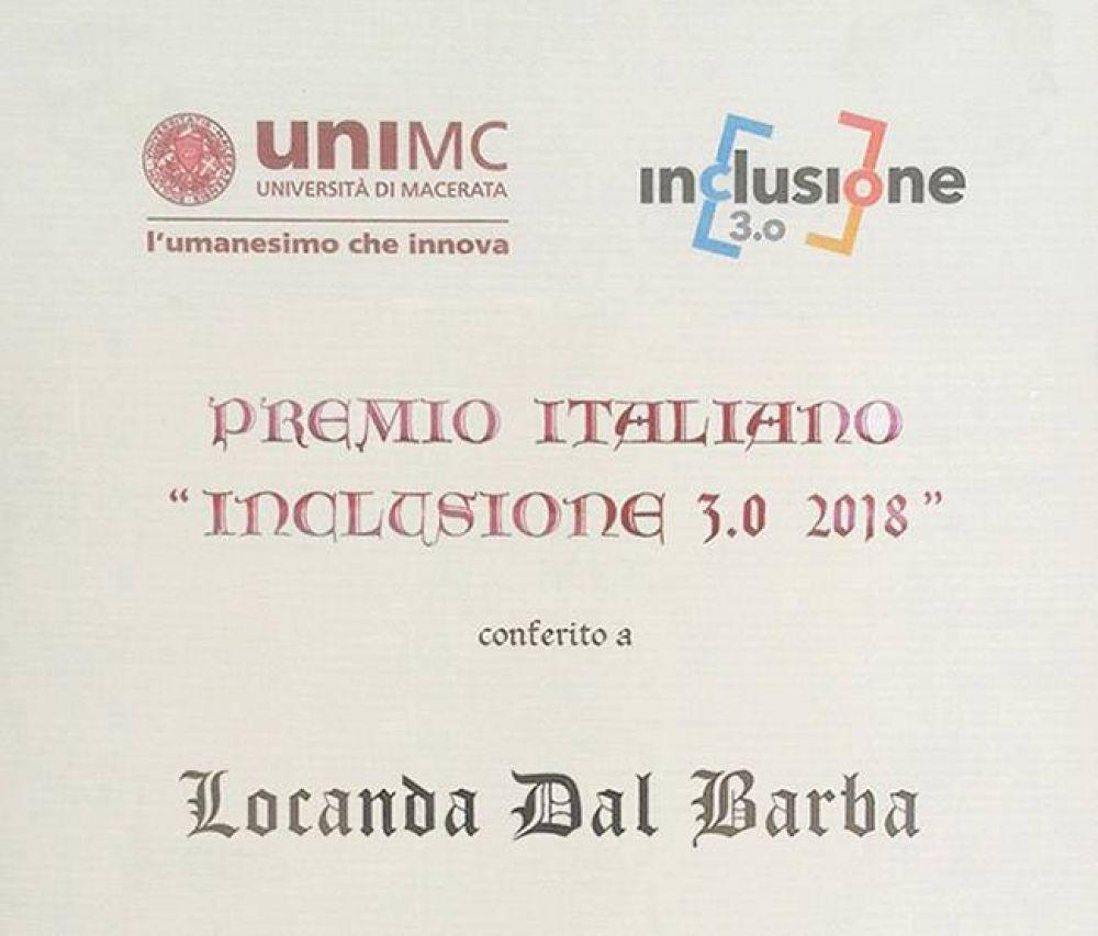 Premio inclusione